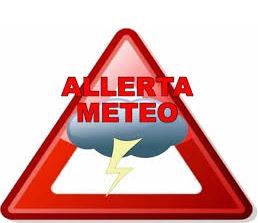 ALLERTA METEO 26/10/2019