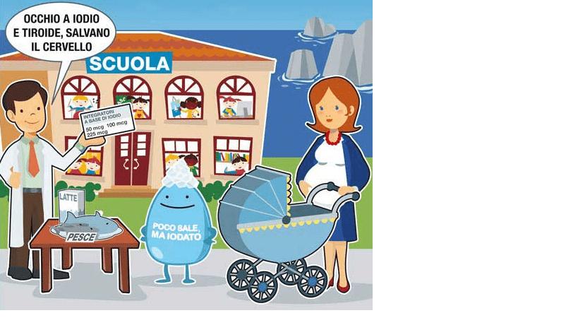 """Circ. 131 – Adesione al progetto """"iodoprofilassi per le scuole"""" finalizzato a sensibilizzare gli studenti e le loro famiglie sull'importanza di un corretto apporto di iodio sin dall'infanzia"""