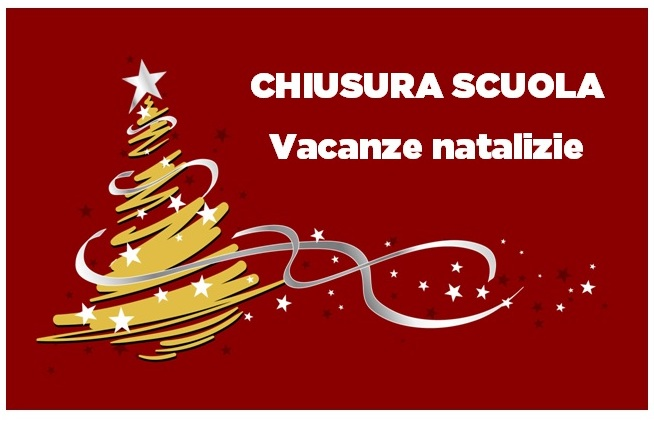 Sospensione attività didattica festività natalizie