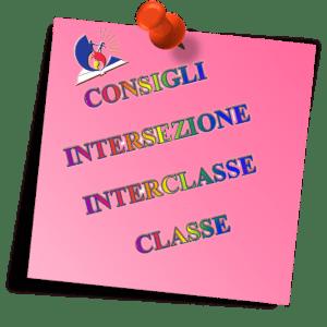 convocazione dei consigli di intersezione/interclasse per il giorno martedì 17.09.2019