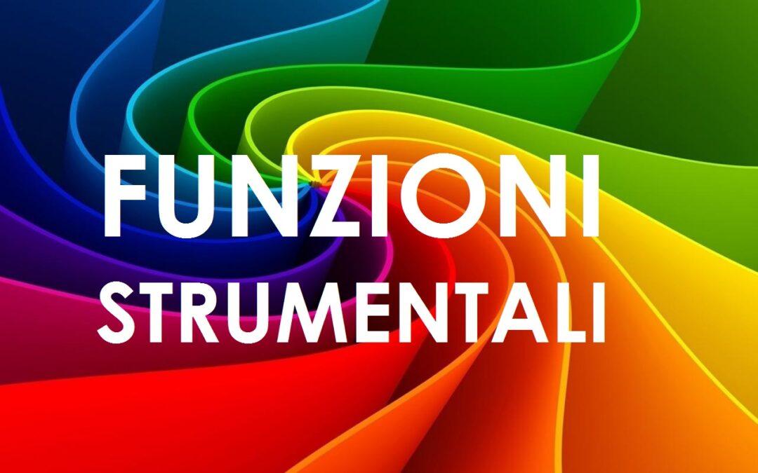 Riapertura dei termini per presentare istanza per svolgere la Funzione Strumentale al PTOF e commissioni di supporto per l'a.s. 2019/2020